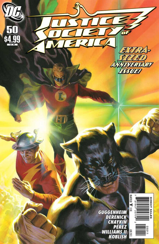 justice society of america 50