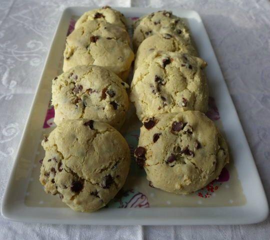 Biscuits sans beurre aux amandes 01