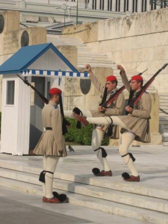 Grèce Athènes Parlement 11