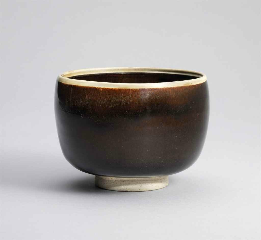 A white-rimmed brown-glazed deep bowl, Northern Song dynasty (960-1127)