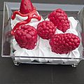 Coupe fruits rouge chantilly