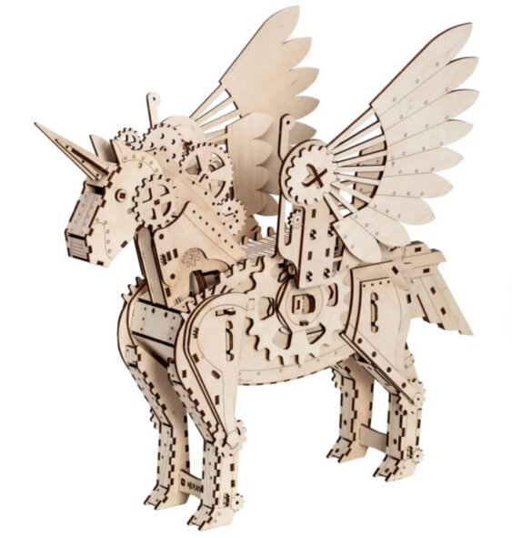 mamanprout_puzzle3Dlicorne