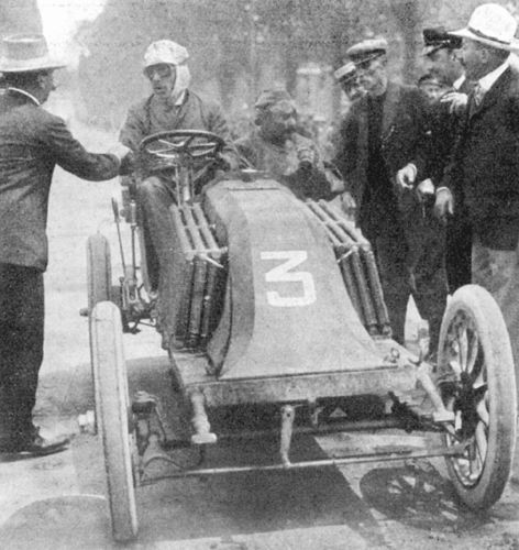 1903 paris-madrid - louis renault (renault), mechanic ferenc szisz, 2nd 3 -  Photo de HEROES OF THE PAST HEROS D'ANTAN - FIAT 131 RACING RESTAURATION  AVANCEE