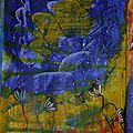 Challenge artjournal et gribouillages # 83 : abstrait