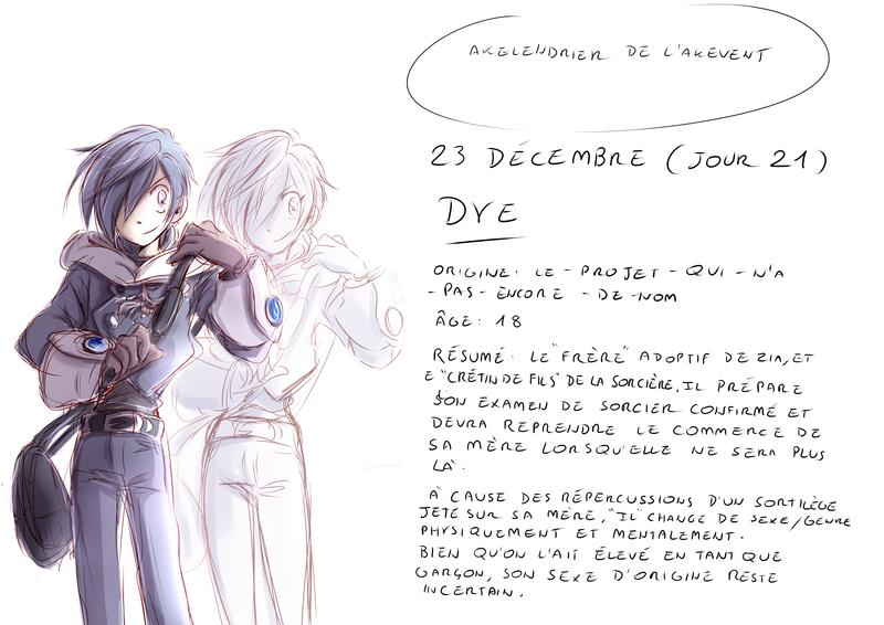 calendar dye