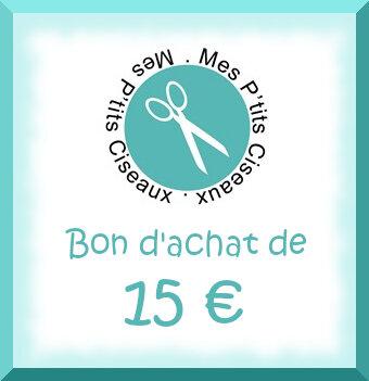 Les petits ciseaux, lot 15 €