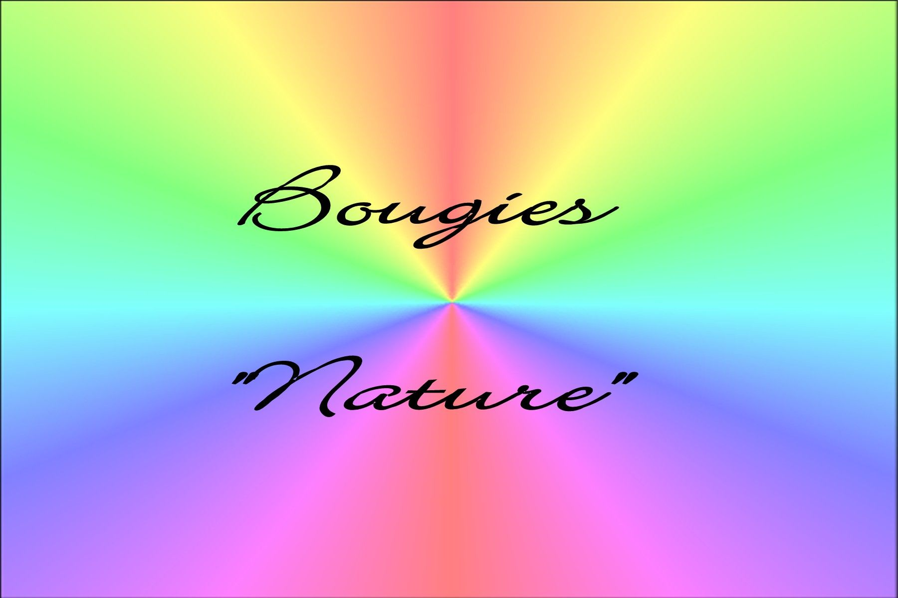 bougie nature