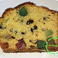 Cake aux fruits confits (thermomix)