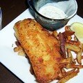 Le fish and chips....ou le fast food très british!!!!