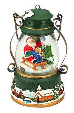 Boule à neige musicale de Noël.