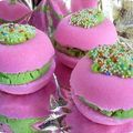 Les macarons effervescents