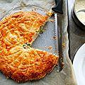 Chicken & garlic pie