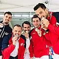 Grenoble - championnat de france par équipes : les seniors csgr en argent