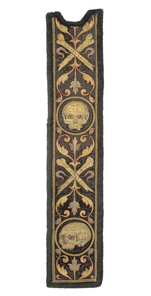 Orfroi spagne, Italie fin du XVIe siècle – début XVIIe siècle