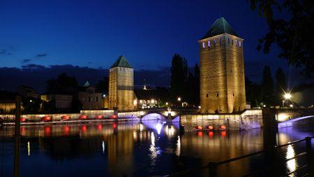 Strasbourg Ponts couverts juillet 2012