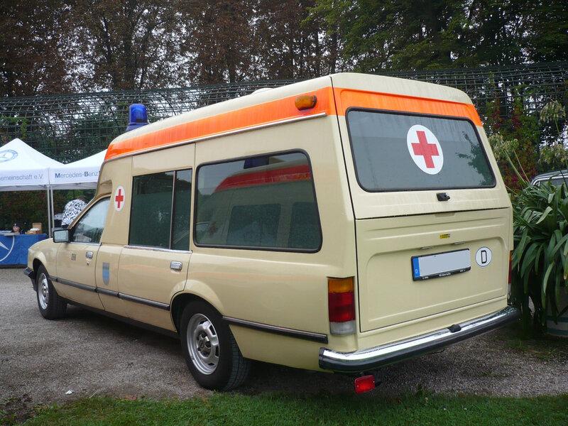 OPEL Commodore C ambulance carrosserie Miesen 1982 Schwetzingen (2)