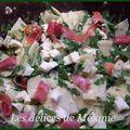 Salade roquette et serrano
