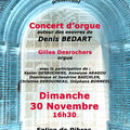 Amateurs d'orgue... bientot un concert !