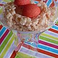 Riz au lait fraise tagada
