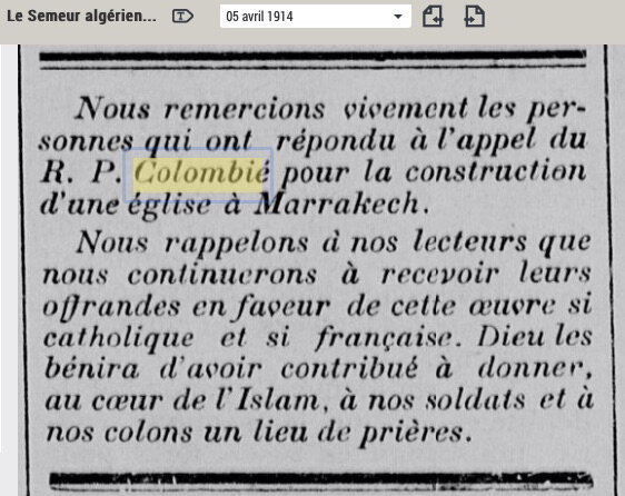 Apollinaire-Colombié-LeSemeur-5avril-1914
