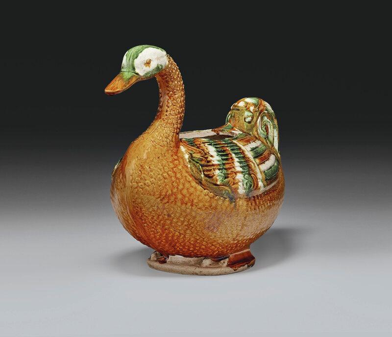 2019_NYR_16950_0837_003(a_very_rare_sancai-glazed_pottery_goose-form_vessel_tang_dynasty)