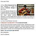 Concert du dimanche 12 novembre à brouilla