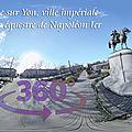 La roche sur yon, ville impériale, la statue équestre de napoléon ier