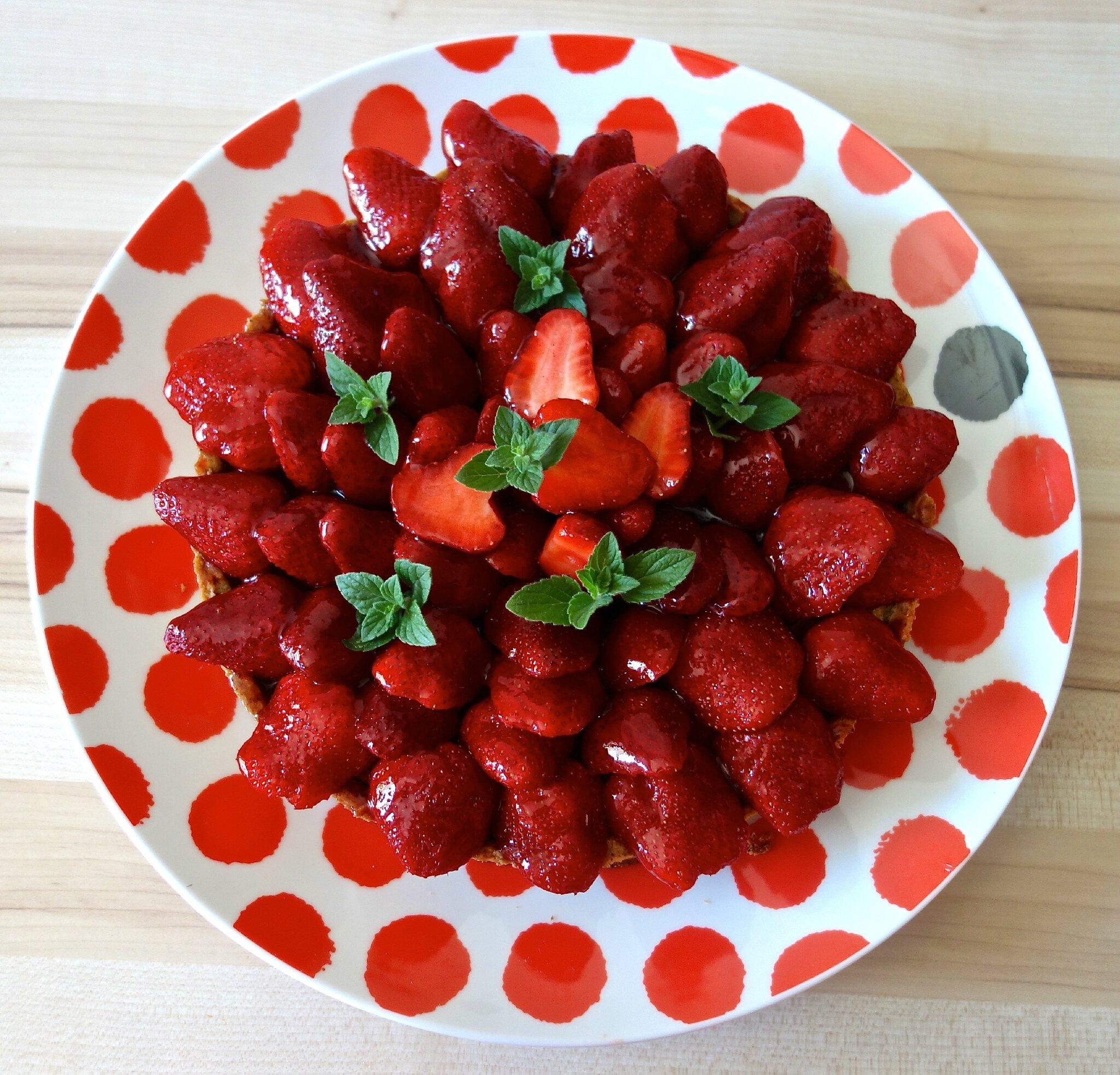 tarte aux fraises de Thierry Mulhaupt