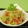 Crostinis au thon-guacamole