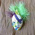 Masque Broche n° 5