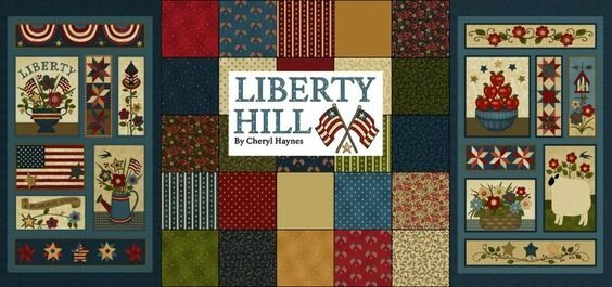 Liberty Hill fabrics