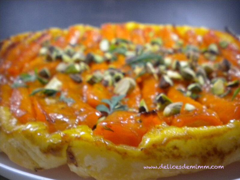 Tarte tatin aux carottes et au caramel d'orange 7
