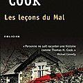 Les leçons du mal, thomas h.cook