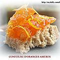 Confitures d'oranges ameres