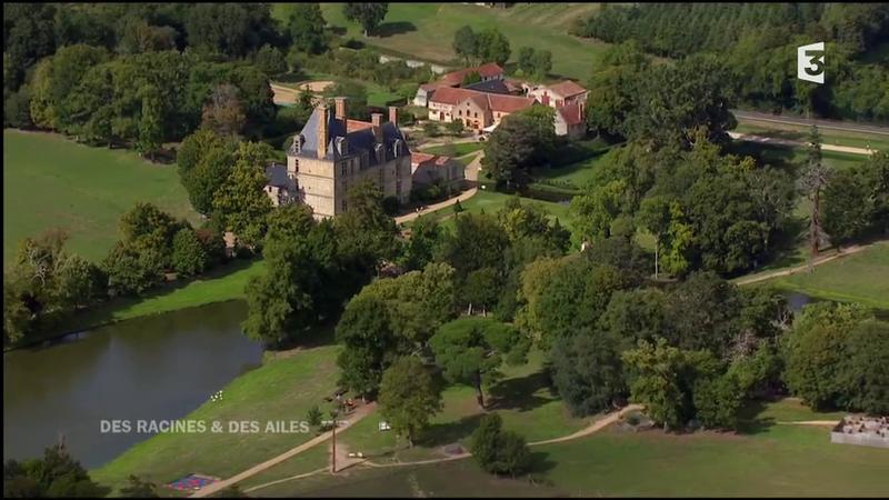 Le château de la Guignardière racines et des ailes