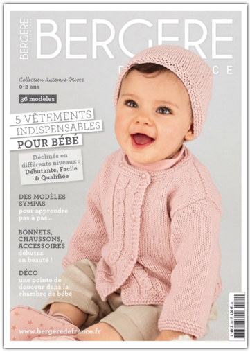 BERGERE DE FRANCE - CATALOGUE N° 182 - COLLECTION AUTOMNE-HIVER 2015-2016
