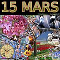 mois de MARS 15