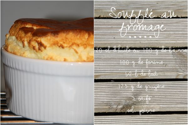 Soufflé fromage4