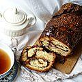 Babka chocolat/pralin, le petit déjeuner comme marqueur du souvenir