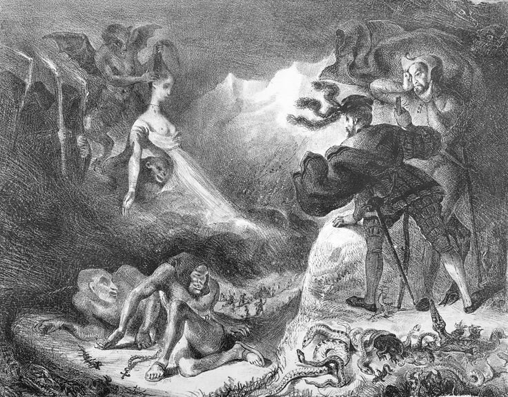 The Shade of Marguerite Appearing to Faust