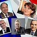 Les représentants des 5 candidats