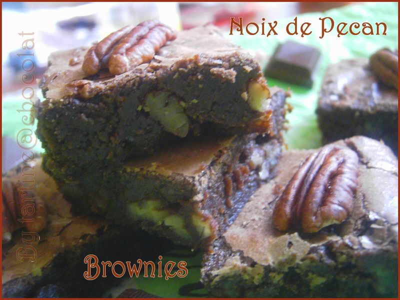Brownies Au Noix De Pecan Selon Cyril Lignac By Tartine At Chocolat