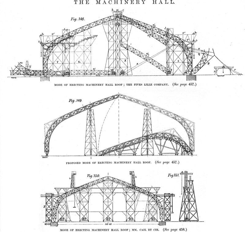 1889_Galerie des machines_construction plan 2