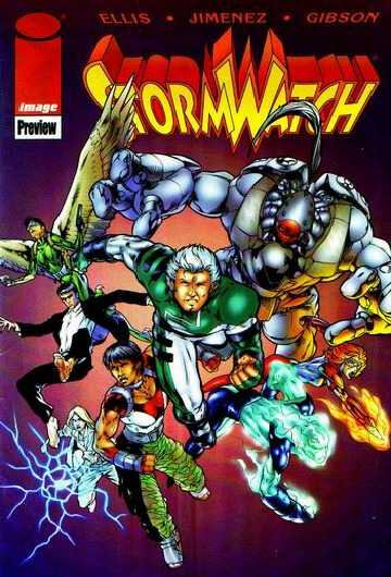 DC Wildstorm Stormwatch 1997-98