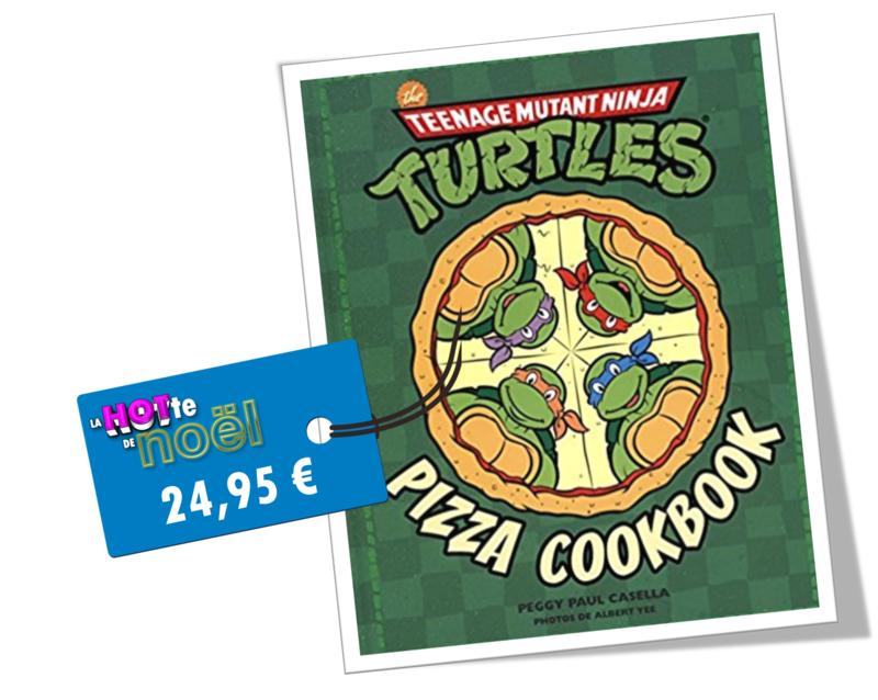 Livre Pizza Tortues Ninja