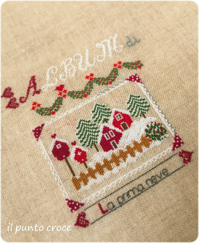 Album di Natale - Cuore e Batticuore - il punto croce - After