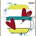 Carte pcc #277 paper craft crew challenges