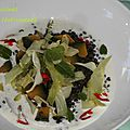 lentilles legumes creme amande