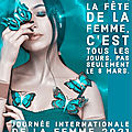 Journee internationale de la femme 2021
