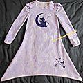 Chemise de nuit souveraine 2 pour petite chipie